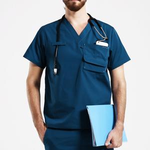 Nurse Uniform cheap New Medical Uniforms Scrub Top