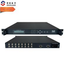 SC-2136 8 <span class=keywords><strong>RF</strong></span> DVB-C QAM cable <span class=keywords><strong>RF</strong></span> TV signal to IPTV IP UDP 멀티 캐스트 unicast out converter
