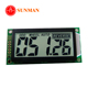 5 digit 7 segment lcd display for car speedometer