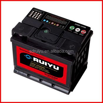 Plomb + Calcium Sans Entretien Batterie De Voiture 56220 mf Buy Batterie,Batterie De Voiture Mf,Batterie Au Plomb 12 V Product on