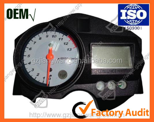 Acouto Motorcycle Odometer Speedometer Tachometer Speedometer Modified Accessories for Suzuki GN125