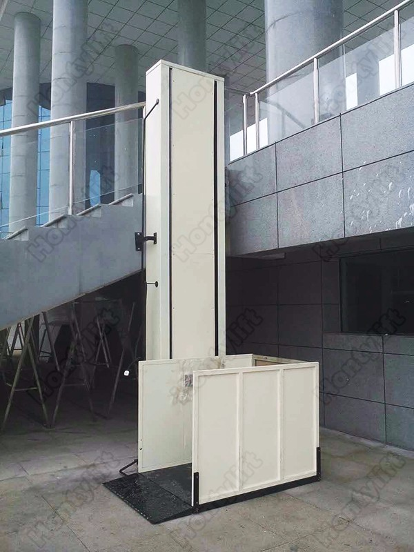 Vertical Wheelchair Lifts : Wheelchair lifts vertical platform mobility