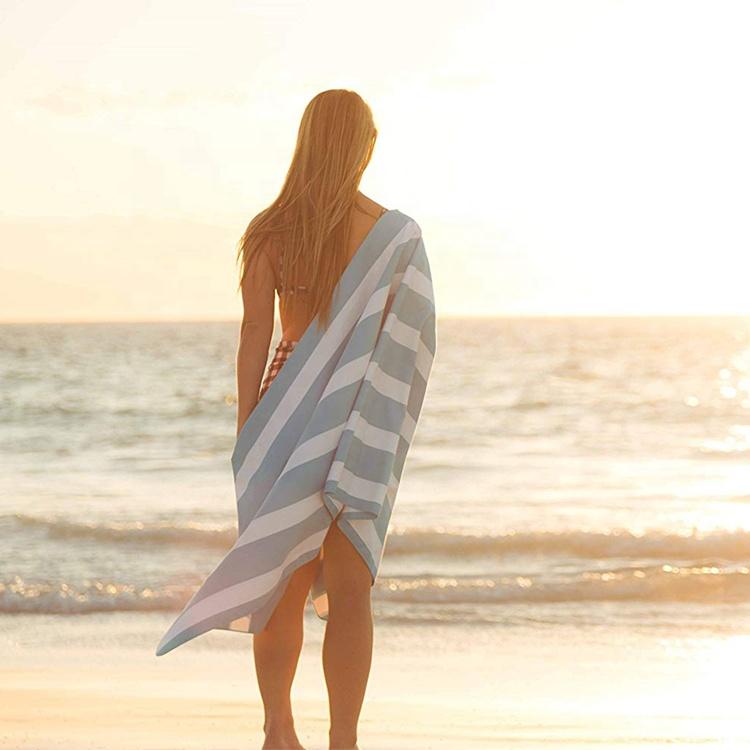 Wholesale Cheap Price Heat Transfer Printed Microfiber Beach Towels