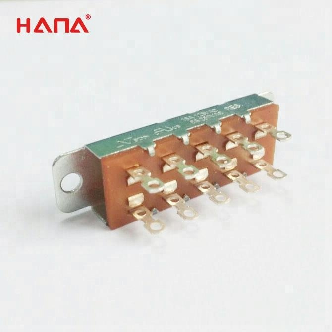 HANA 2p2t 4 position slide switch with high quality