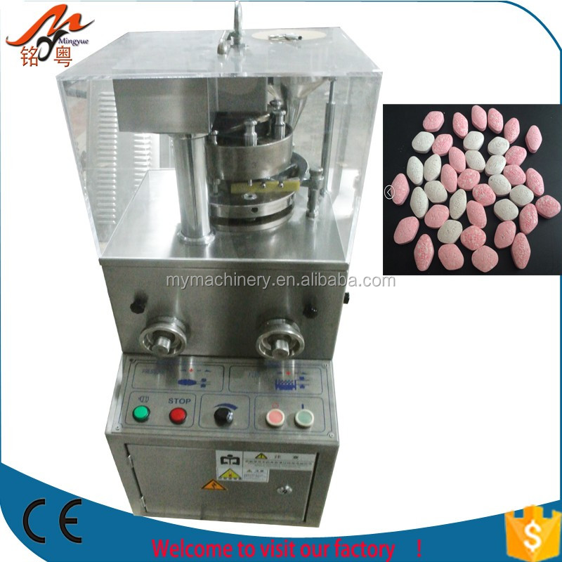 High Speed Irregular Shape Rotary Tablet Press Machine for Peppermint Sugar