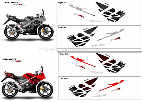 China Motorcycle Graphics And Decals China Motorcycle Graphics - Motorcycle decal graphics