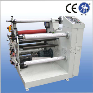automatic film roll slitter and rewinder machine