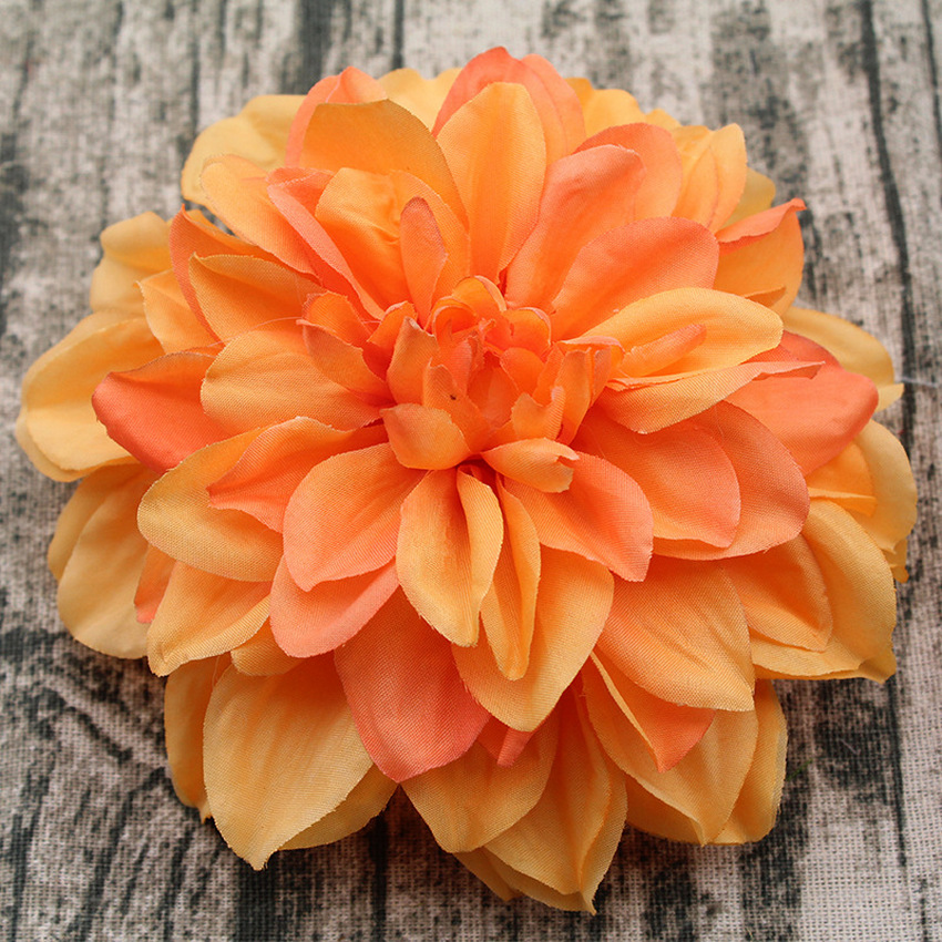 15CM High Quality Wedding Wall Decoration Artificial Dahlia Head