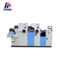Modern design 2 color flat bed printing machine price