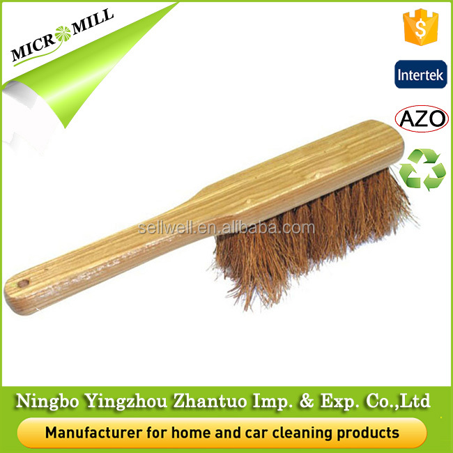 Dust brush cleaning wooden brush