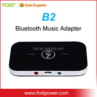 Bluetooth 4.1 Transmitter and Receiver 2-In-1 Wireless Bluetooth Adapter with 3.5mm Stereo Output for Headphone Speak TV PC
