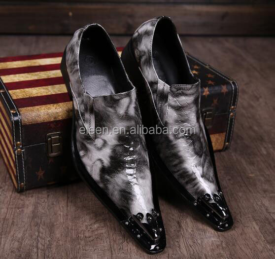 cool style leather 2016 toe new shoes point man U8BSxInwS