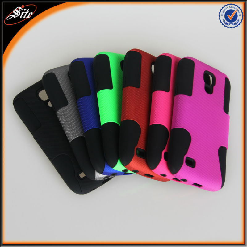 471b0ca2255 Celulares Protector Doble Hardcase Funda Estuche Forro para Samsung Galaxy  S4 Mini I9190