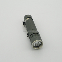 Three Lighting Modes Silver/Green Led Torch Flashlight Mini Keychain Lamp