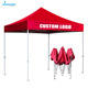 Custom Outdoor Event 3x3 Folding Printed Red Gazebo Canopy Tent for Trade Show