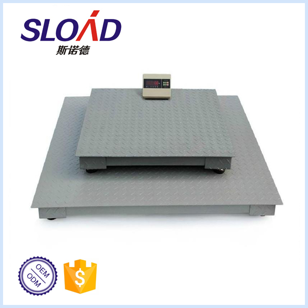 Weighing Capacity 1,000-3,000kg industry pallet electronic floor scale
