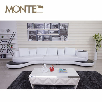 Wooden Armrest White Leather Sofa Ashley Furniture - Buy Wooden ...