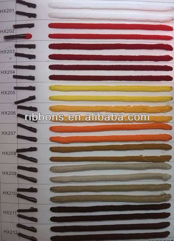 low elastic polyester rope Diamond Braided Rope/nylon Pp Poly