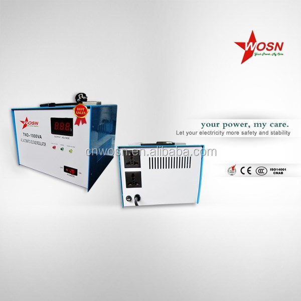 1KVA power conditioner for tv single phase top 100 voltage regulators