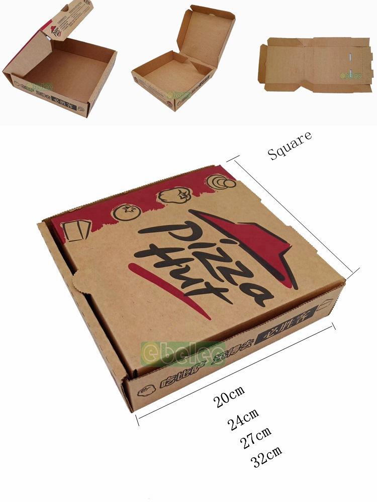 Ebelee pizza box for pizza vending machine 12 inch