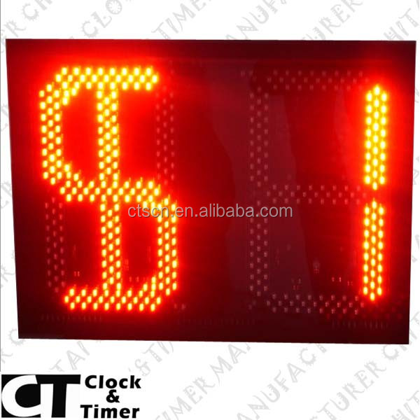 OEM Digital Large Display LED Numbers Display Boards