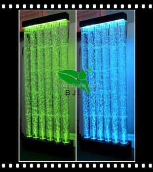 neue innendekoration ideen aquarium led acryl wasserblase wand - Innendekoration Ideen