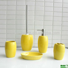 Yellow Bathroom Accessories Set, Yellow Bathroom Accessories Set Suppliers  And Manufacturers At Alibaba.com