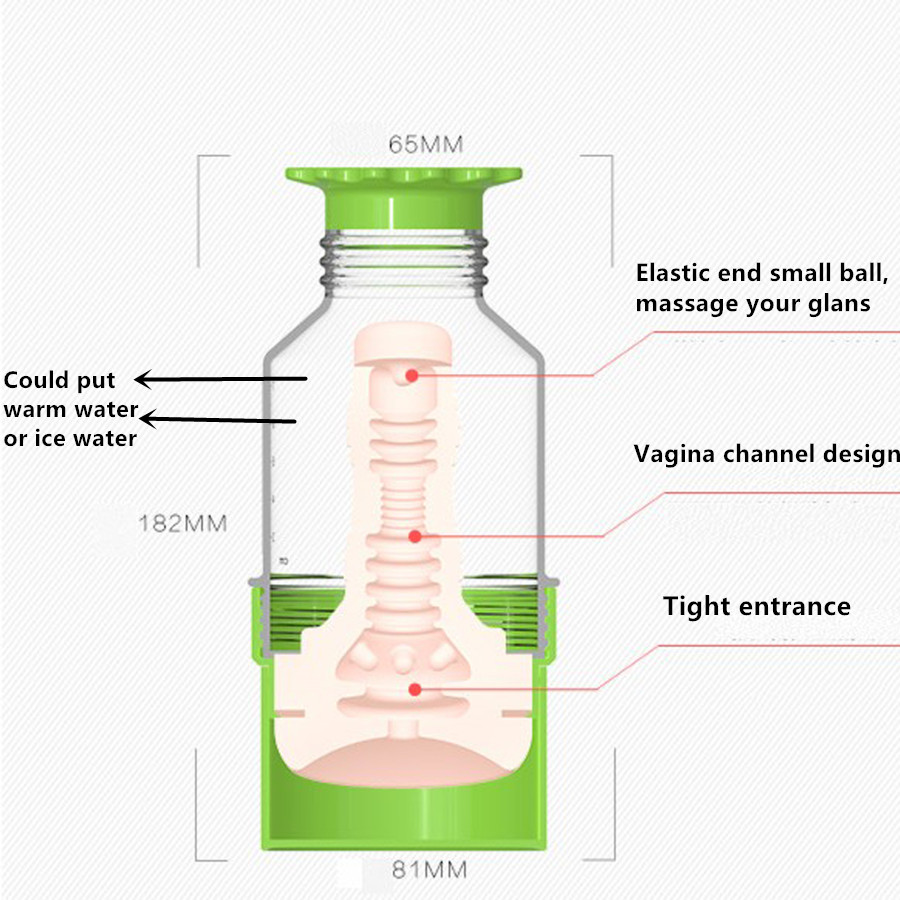 New Male Masturbator Artificial Vagina Water Injected Air Inflation Pocket Pussy Big Ass Real Cunt Adult Sex Toys for Men