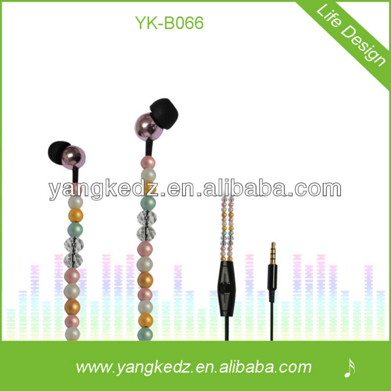 Comfortable Bead earphone ultimate earphone ue500vi for music