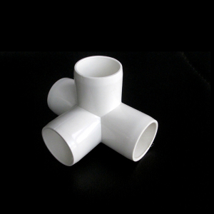 PVC pipe fitting/equal tee for electrical bushing