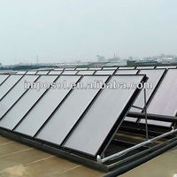 flat panel solar system/solar power system for project