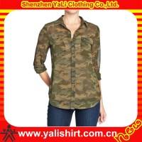fashion women digital camo jacket