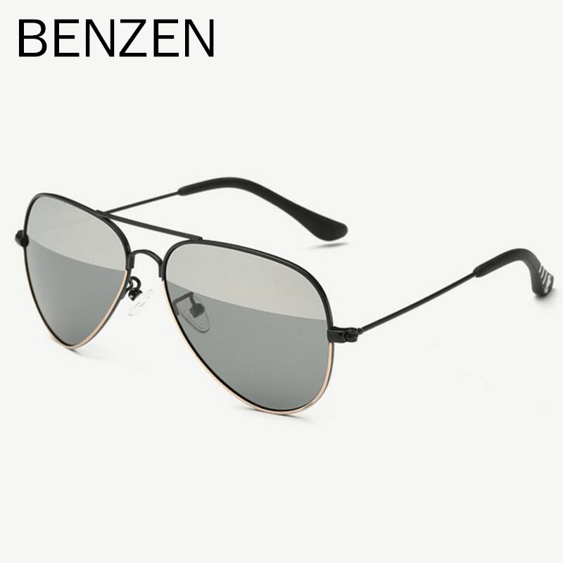 Double Color Polarized Kids Sunglasses Colorful UV 400 Children Sunglasses Boy Sun Glasses Girl Glasses Shades With Case 1008