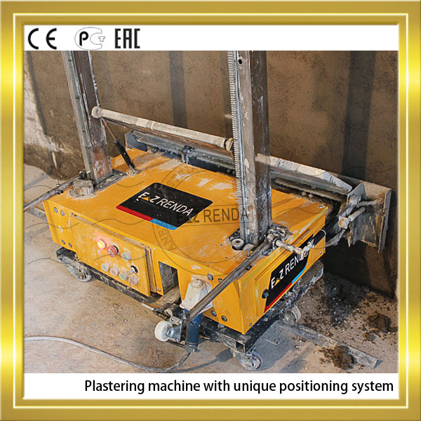 Portable Weight 100kg Ez renda Auto Rendering Machine For Buildings