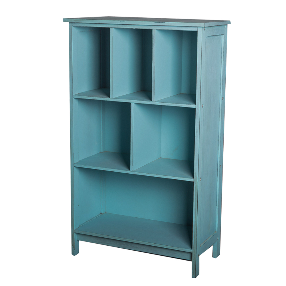 Blue Rustic Antique Units Small Open Bookcase For Book Organization Buy Bookcase For Book Rustic Bookcase Antique Bookcase Product On Alibaba Com