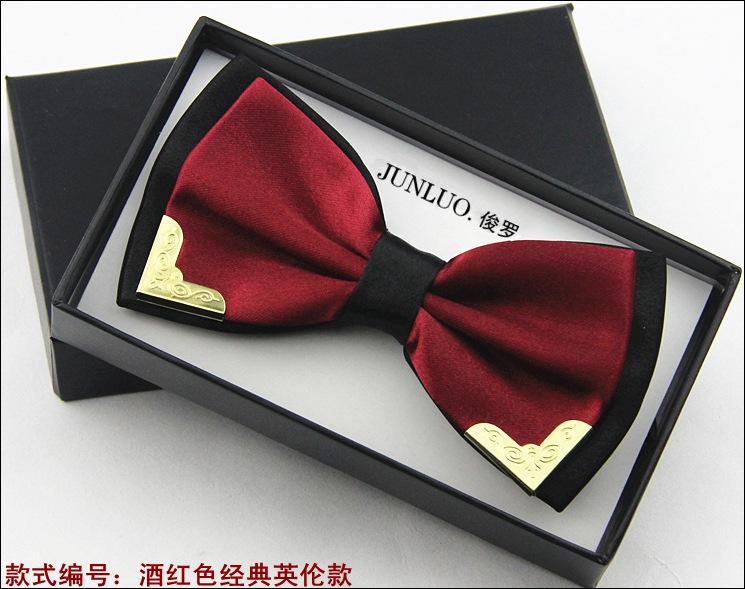 Бант галстук дутый галстук-бабочка вилочная часть бант галстук мужчины замуж невеста цвет блок украшение бабочка