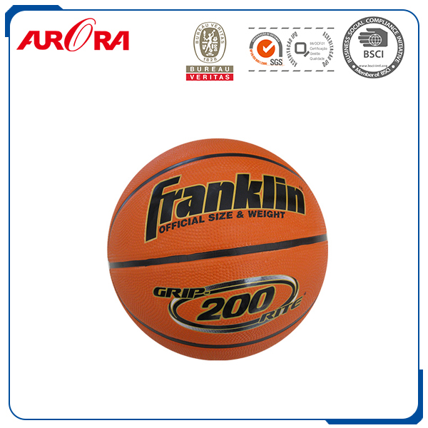 Professional Training Basketball Rubber Material Laminated Basketball
