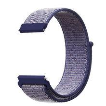 Тканый нейлоновый ремешок петля ремешок для часы Garmin Vivoactive 3 4 Вену/GarminMove/GarminActive/Forerunner 245 645 браслет ремешок для часов(Китай)