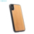 Laser Engraving Design Blank Wood TPU Cover Cell Phone Case For iPhone X XR XS MAX