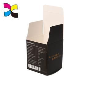 Folded Corrugated Inner Carton eletronic cosmetic Packaging paper Box