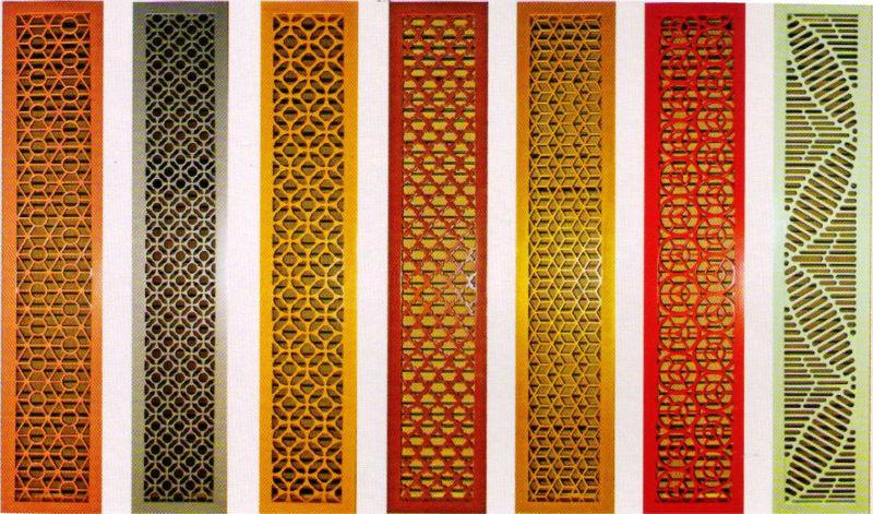 Decorativas rejillas calor ventilaci n aire acondicionado partes identificaci n del producto - Rejillas de ventilacion para banos ...