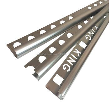 Rondec Aluminum Metal Bullnose Tile Edging Trim