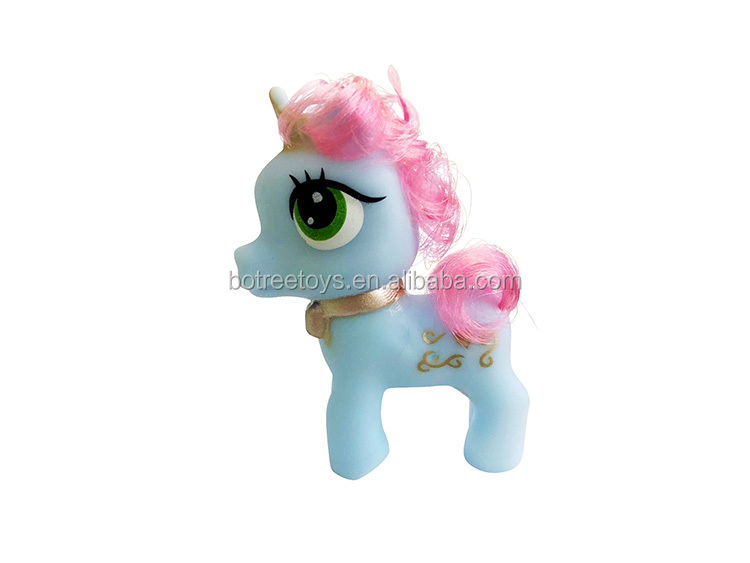 Soft Vinyl Pegasus Promotional Unicorn Toys for Kids