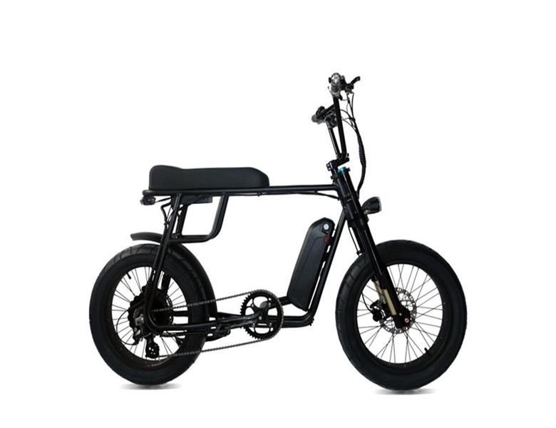 Mario ebike 1000w MAC rear hub motor Retro full suspension fat tire electric bicycles