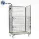 Material Stackable Storage Handling Containers Folding Trolleys
