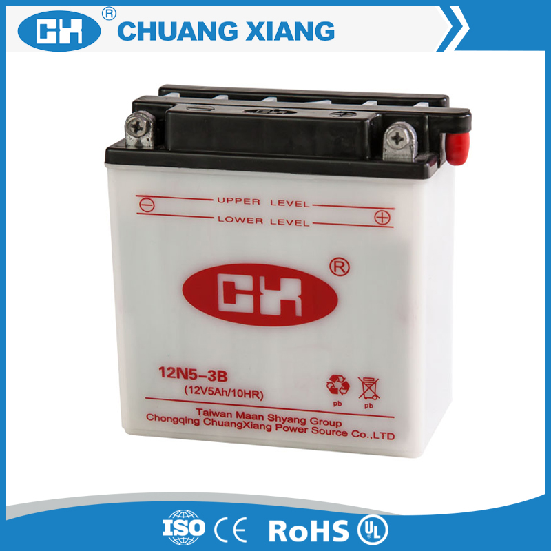 12v 5ah storage battery for motorcycle