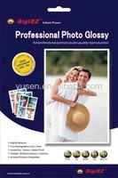 Premium RC Glossy Inkjet Photo Paper 260gsm A4/ 4x6