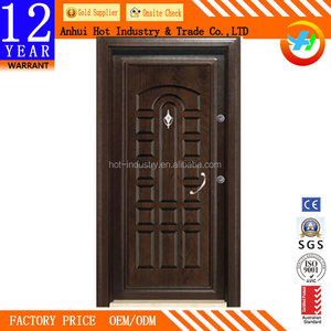 Cheap Turkey Style Turkish Door Steel Wooden Armored Door