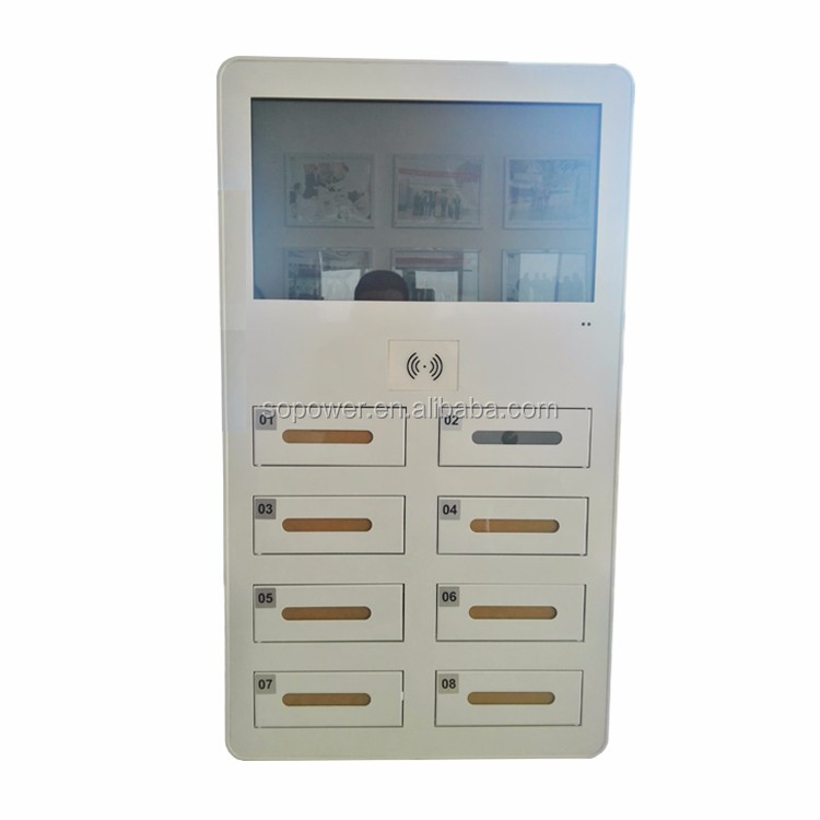 Sopower Cell Phone Charging Cabinet Kiosk Charger Vending ...