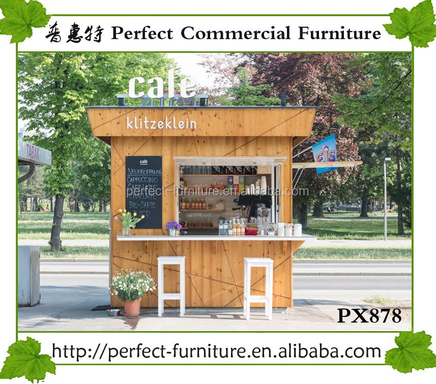 Tienda dise o quiosco con fregadero agua jugo yogur kiosco for Kioscos de madera baratos